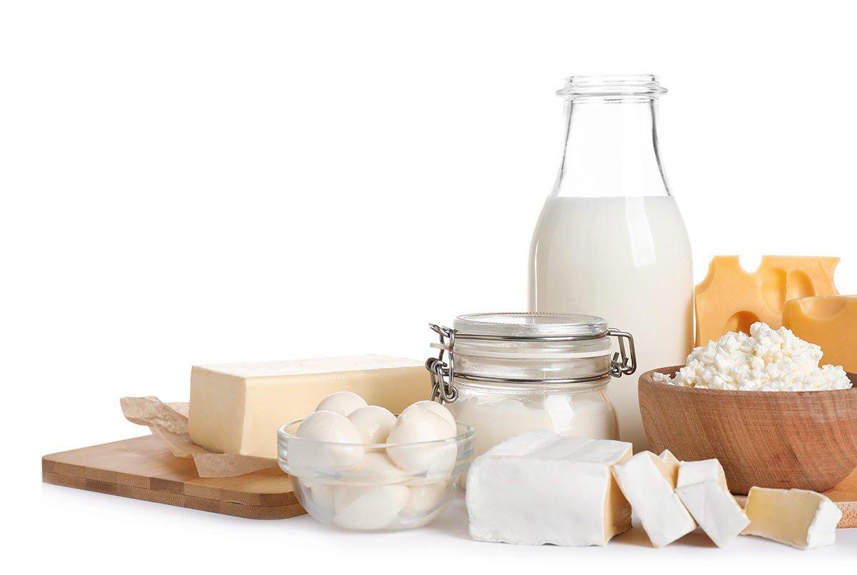 Porciones Recomendadas de Productos Lácteos