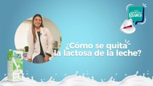 ¿Cómo se quita la lactosa de la leche?